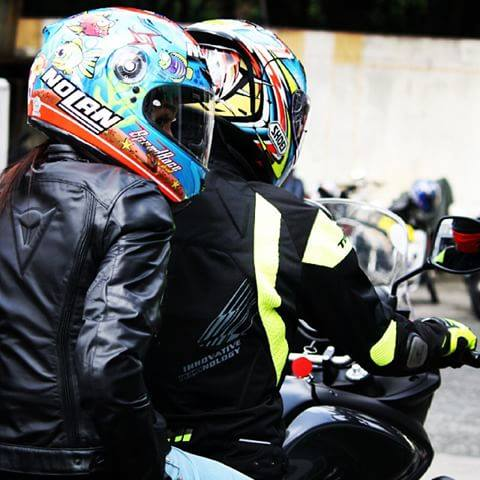 Moto299 nolan N64 Aqua blue du huong cua bien ca