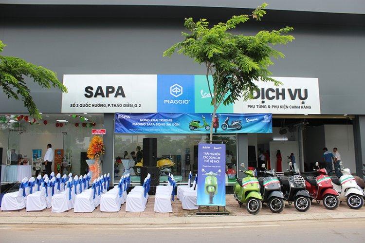 Cửa hàng Piaggio Vespa SAPA Quận 2, hỗ trợ trả góp, hậu mãi cực tốt. hotline 0902 76 3399 - 1