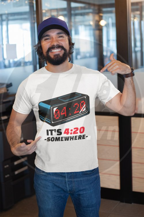 mockup-of-a-happy-customer-showing-off-his-t-shirt-inside-a-modern-office-26189.