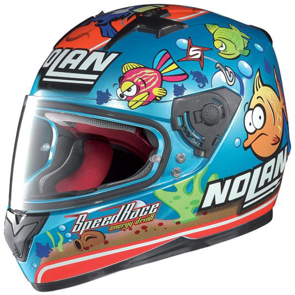 Moto299 nolan N64 Aqua blue du huong cua bien ca - 5