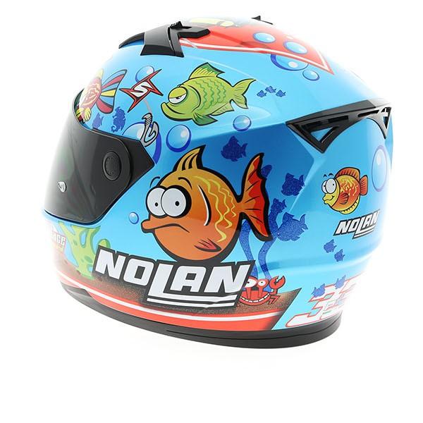 Moto299 nolan N64 Aqua blue du huong cua bien ca - 4